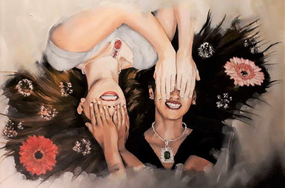 Ebony and Ivory by Lisa Wallace
