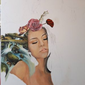Work in progress by Lisa Wallace