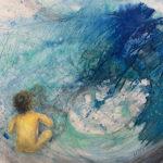 Painting by Christchurch artist Haruko Furukawa
