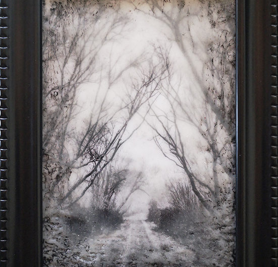 Winter Walkway by Roseanne Jones