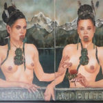 Pinching Maori, Georgina and Eileen 1920 by Rhonye McIlroy
