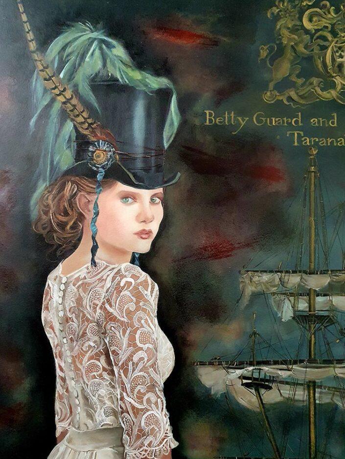 Betty Guard and the HMS Alligator Taranaki by Rhonye McIlroy