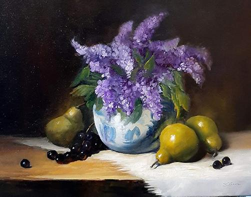 Spring Fragrance by Sandie Brown