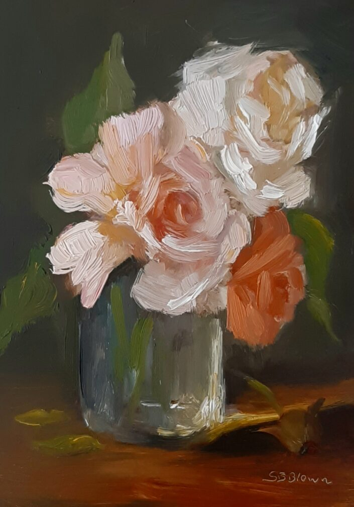 Summer Roses by Sandie Brown