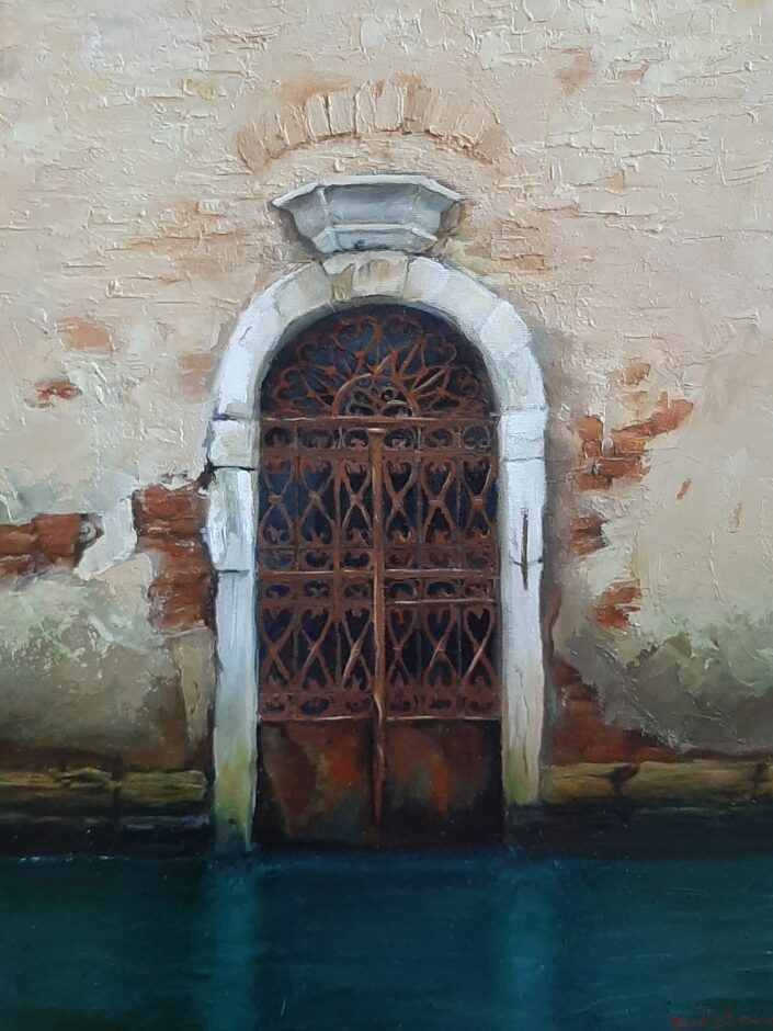 Textures of Venice by Sandie Brown