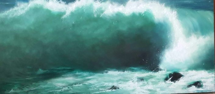 Sea Spray by Sandie Brown