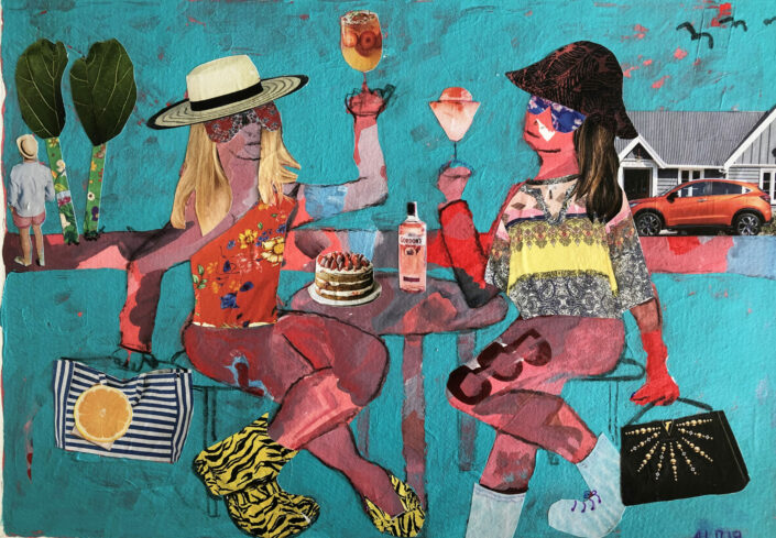 Cheers Happy New Year by Alison Lowe