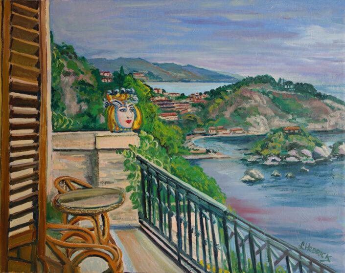 Taomino Isola Bella by L M Hedrick