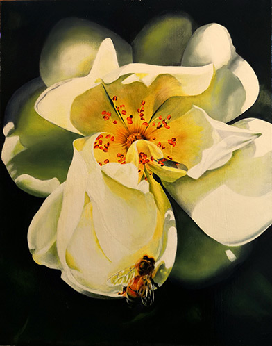 Painting by Mary Fraser