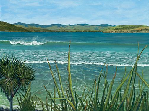 Curio Bay by Louise Thwaites