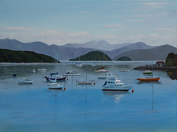 Waikawa Bay by Louise Thwaites