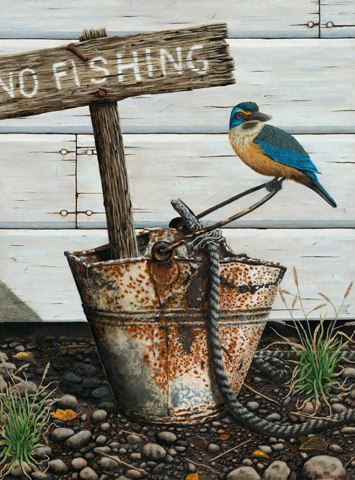 No Fishing, by Mark Larsen