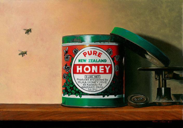 Pure NZ Honey by Mark Larsen