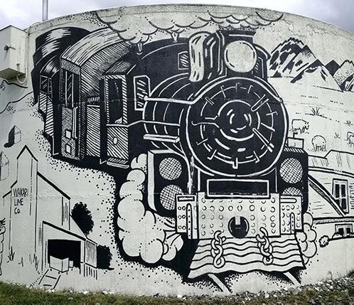 Mural by Margot Korhonen