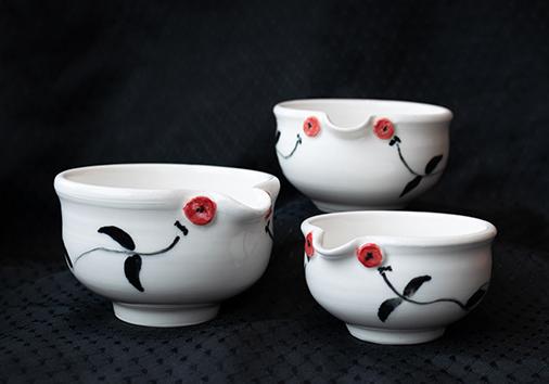 Ceramic art by Marie Rusbatch-Dawson