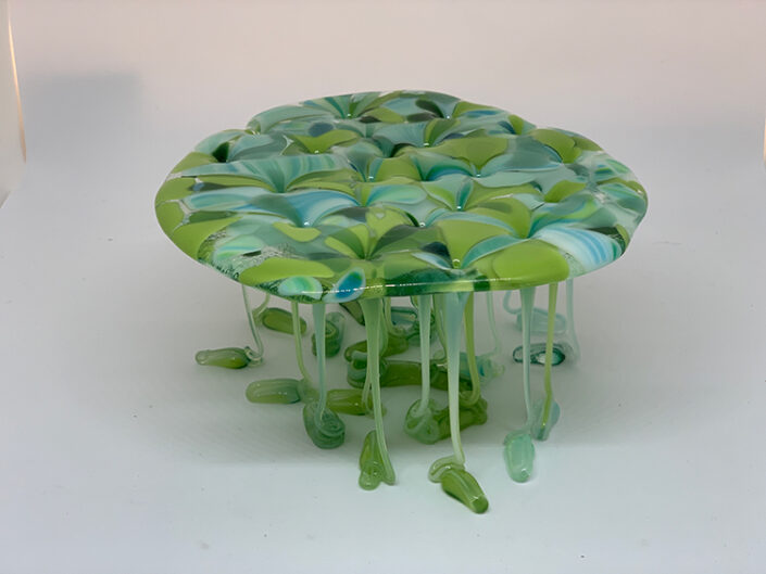 Lilypad Legs by Roxtar Glass Art