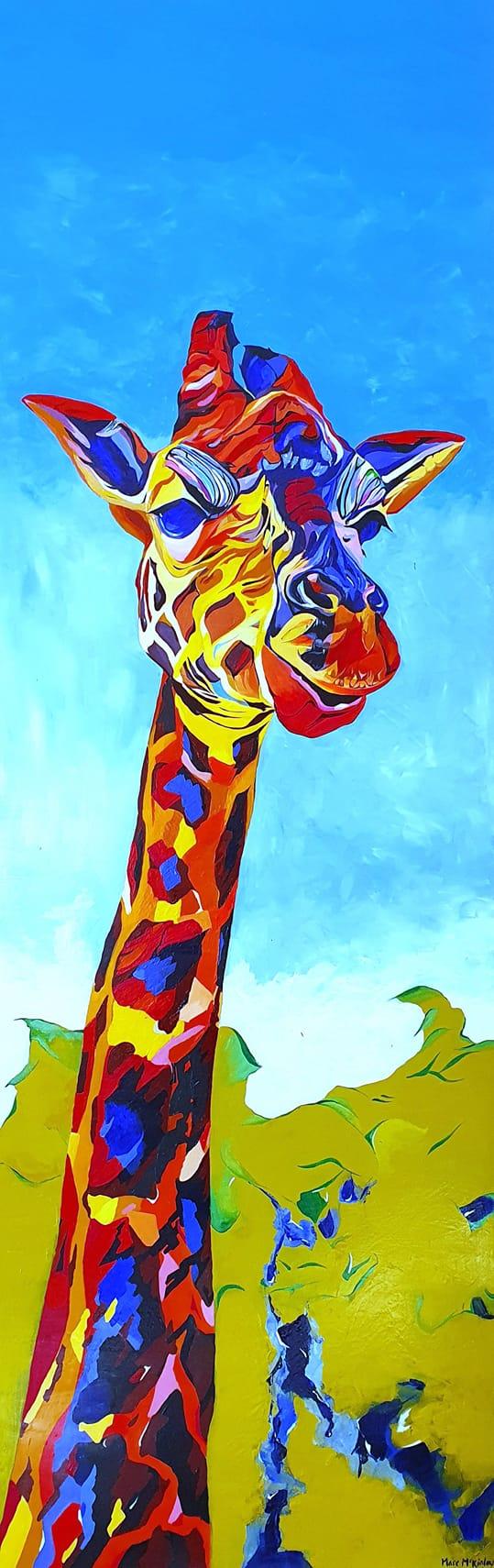 Giraffe by Marc McKinley