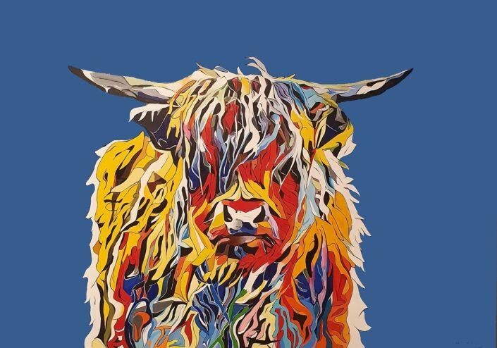Highland Cow by Marc McKinley
