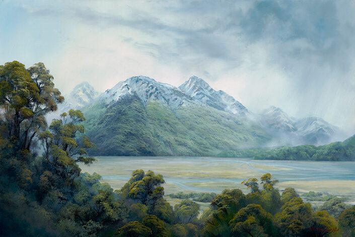 Painting by Struan Macdonald