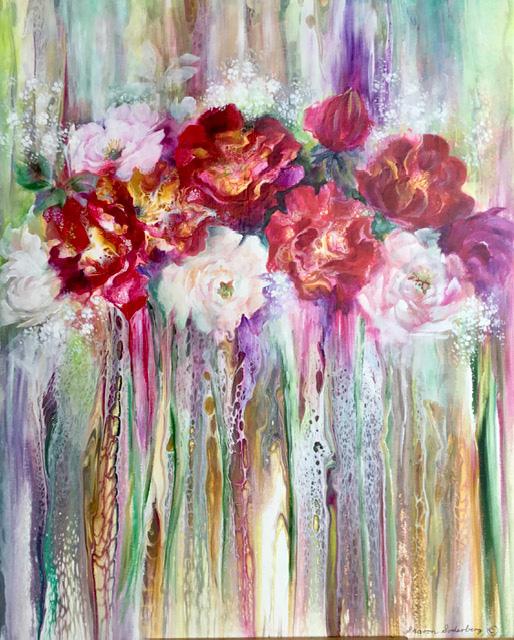 Flower Bouquet #2 by Sharon Soderberg White