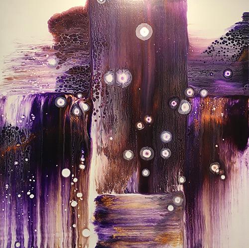 Purple Square by Annie Robertson