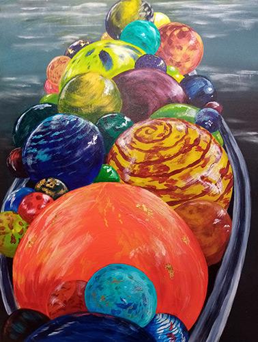 Glass Orbs by Chris Threadwell
