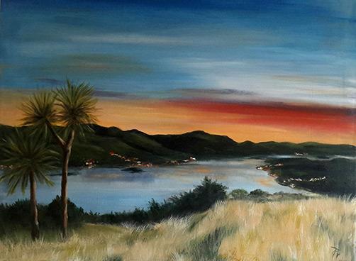 Otago Sunrise by Chris Threadwell