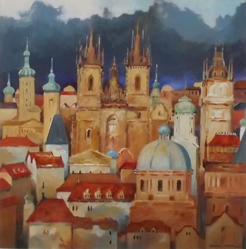 Prague by Jennifer Neutze